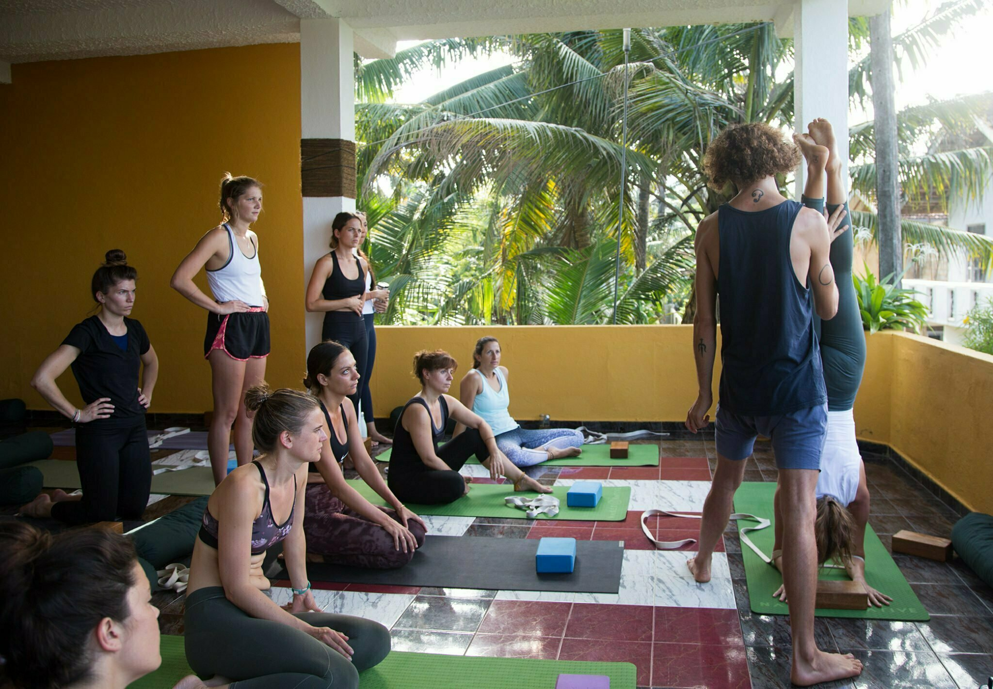 Yoga teacher training Sri Lanka Stefan Camilleri683
